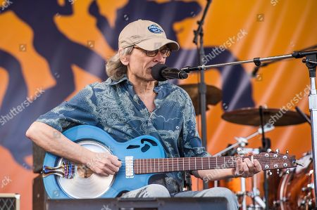 Sonny Landreth performs at the New Orleans Jazz and Heritage Festival, in New Orleans