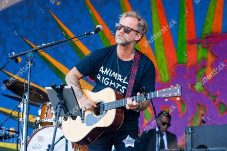 Anders Osborne performs at the New Orleans Jazz and Heritage Festival, in New Orleans