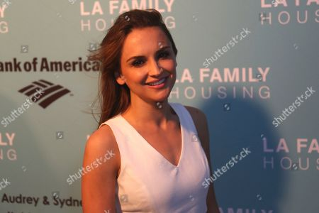 Rachel Leigh Cook arrives at the 2017 LA Family Housing Awards at The Lot, in West Hollywood, Calif