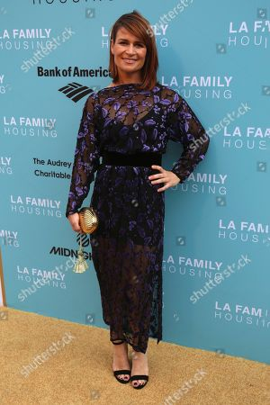 Stock Photo of Carrie Lazar arrives at the 2017 LA Family Housing Awards at The Lot, in West Hollywood, Calif