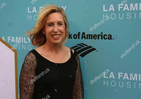 Stock Picture of Wendy Greuel arrives at the 2017 LA Family Housing Awards at The Lot, in West Hollywood, Calif