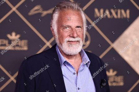 Jonathan Goldsmith attends the 2017 MAXIM Hot 100 Party at the Hollywood Palladium, in Los Angeles