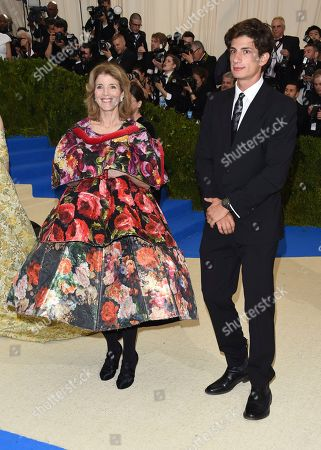 "Caroline Kennedy, left, and John ""Jack"" Schlossberg attend The Metropolitan Museum of Art's Costume Institute benefit gala celebrating the opening of the Rei Kawakubo/Comme des Garçons: Art of the In-Between exhibition, in New York"