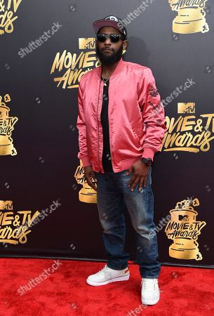 Karlous Miller arrives at the MTV Movie and TV Awards at the Shrine Auditorium, in Los Angeles