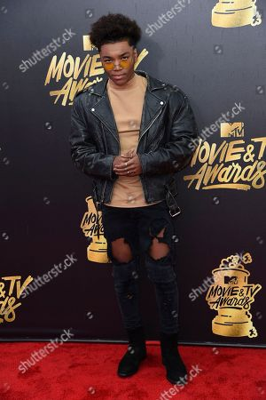 Editorial picture of 2017 MTV Movie and TV Awards - Arrivals, Los Angeles, USA - 7 May 2017
