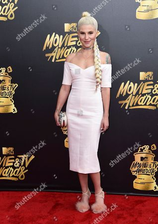 Editorial photo of 2017 MTV Movie and TV Awards - Arrivals, Los Angeles, USA - 7 May 2017