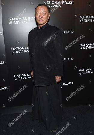 Cary-Hiroyuki Tagawa arrives at the National Board of Review Gala at Cipriani 42nd Street, in New York
