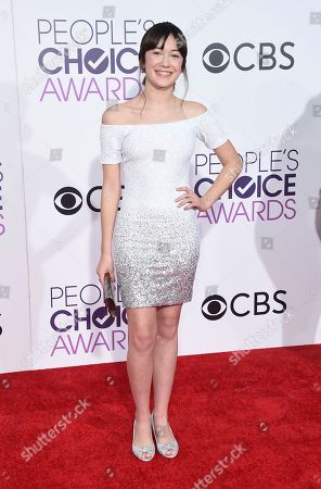 Grace Kaufman arrives at the People's Choice Awards at the Microsoft Theater, in Los Angeles