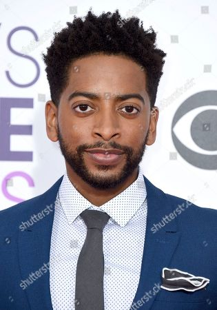 Shaun Brown arrives at the People's Choice Awards at the Microsoft Theater, in Los Angeles
