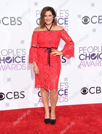 Deborah Baker Jr. arrives at the People's Choice Awards at the Microsoft Theater, in Los Angeles