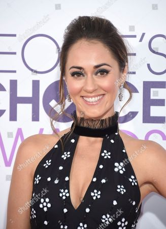 Stock Photo of Susannah Fielding arrives at the People's Choice Awards at the Microsoft Theater, in Los Angeles