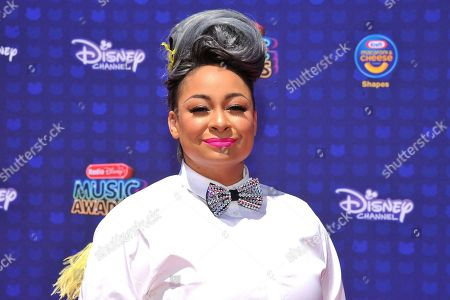 Raven Simone is seen at the 2017 Radio Disney Music Awards at the Microsoft Theatre on in Los Angeles, Calif