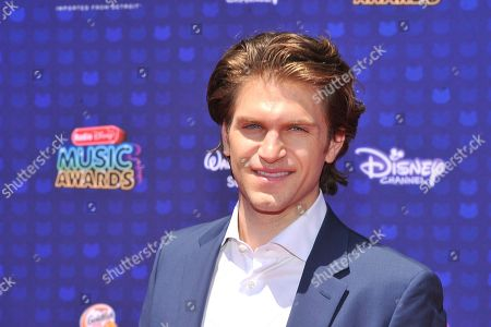 Keegan Allen is seen at the 2017 Radio Disney Music Awards at the Microsoft Theatre on in Los Angeles, Calif