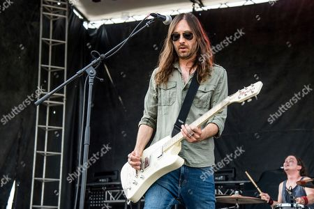 Kemble Walters of Aeges performs at Rock On The Range Music Festival, in Columbus, Ohio