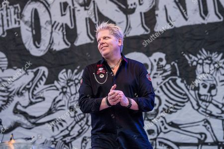 Dexter Holland of The Offspring performs at Rock On The Range Music Festival, in Columbus, Ohio