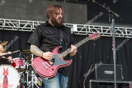 Shaun Morgan of Seether performs at Rock On The Range Music Festival, in Columbus, Ohio