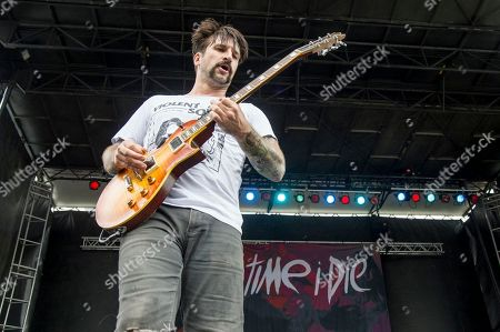 Jordan Buckley of Every Time I Die performs at Rock On The Range Music Festival, in Columbus, Ohio