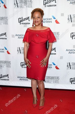 Singer Cassandra Wilson attends the 48th Annual Songwriters Hall of Fame Induction and Awards Gala at the New York Marriott Marquis Hotel, in New York