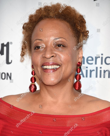 Stock Picture of Singer Cassandra Wilson attends the 48th Annual Songwriters Hall of Fame Induction and Awards Gala at the New York Marriott Marquis Hotel, in New York
