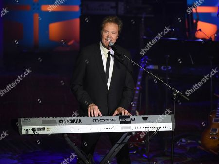 Inductee Robert Lamm performs at the 48th Annual Songwriters Hall of Fame Induction and Awards Gala at the New York Marriott Marquis Hotel, in New York