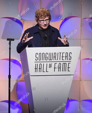 Editorial image of 2017 Songwriters Hall of Fame - Show, New York, USA - 15 Jun 2017