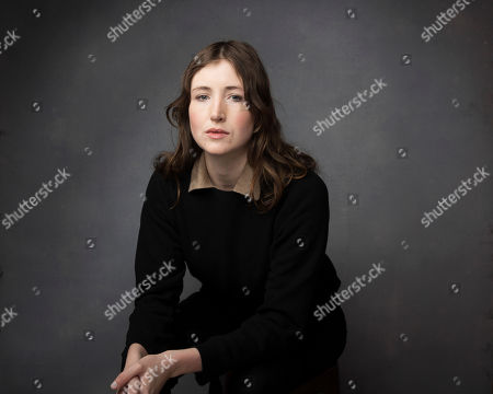"""Actress Kate Lyn Sheil poses for a portrait to promote the film, """"Brigsby Bear"""", at the Music Lodge during the Sundance Film Festival, in Park City, Utah"""