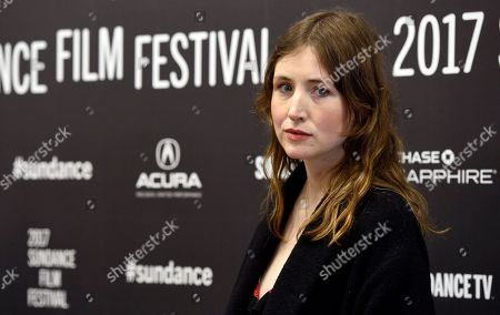 """Kate Lyn Sheil, a cast member in """"Brigsby Bear,"""" poses at the premiere of the film at Eccles Theatre during the 2017 Sundance Film Festival, in Park City, Utah"""
