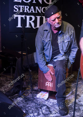 "Bill Kreutzmann performs at the party for the film ""Long Strange Trip"" during the 2017 Sundance Film Festival, in Park City, Utah"