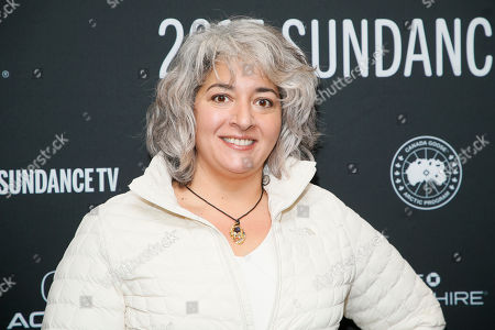 "Stock Image of Trixie Garcia, daughter of the late Grateful Dead founder Jerry Garcia, poses at the premiere of ""Long Strange Trip,"" a documentary about the Grateful Dead rock group, during the 2017 Sundance Film Festival, in Park City, Utah"