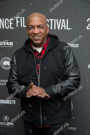 "Stock Image of Co-producer Ralph McDaniels poses at the premiere of the film ""Roxanne Roxanne"" at the Library Center Theater during the 2017 Sundance Film Festival, in Park City, Utah"