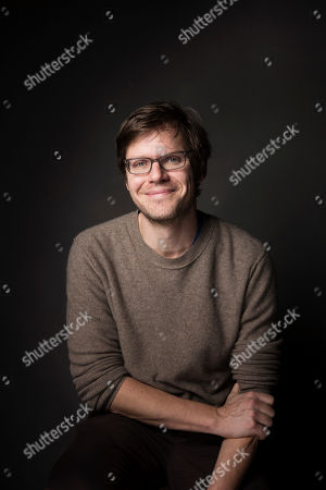 "Stock Photo of Writer and director Jim Strouse poses for a portrait to promote the film, ""The Incredible Jessica James,"" at the Music Lodge during the Sundance Film Festival, in Park City, Utah"