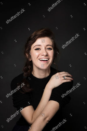 """Actress Noel Wells poses for a portrait to promote the film, """"The Incredible Jessica James,"""" at the Music Lodge during the Sundance Film Festival, in Park City, Utah"""
