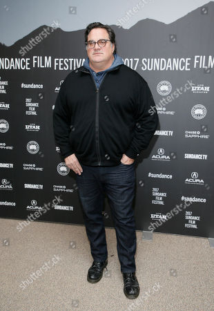 """Director Mark Pellington poses at the premiere of """"The Last Word"""" during the 2017 Sundance Film Festival, in Park City, Utah"""