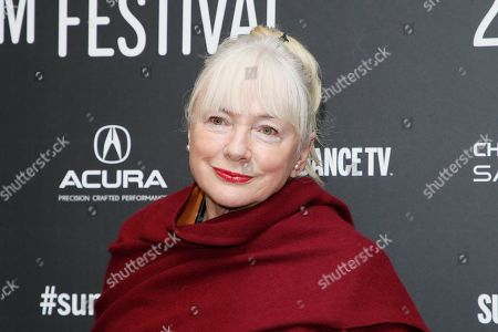 """Stock Image of Producer Anne-Marie Mackay poses at the premiere of """"The Last Word"""" during the 2017 Sundance Film Festival, in Park City, Utah"""