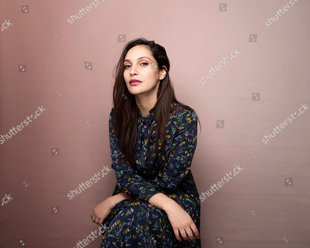 """Actress Hania Amar poses for a portrait to promote the film, """"The Nile Hilton Incident"""", at the Music Lodge during the Sundance Film Festival, in Park City, Utah"""