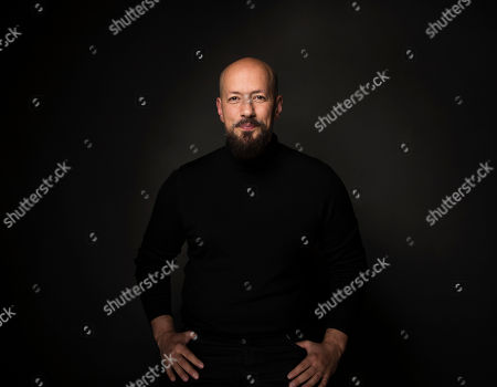 "Director Tarik Saleh poses for a portrait to promote the film, ""The Nile Hilton Incident"", at the Music Lodge during the Sundance Film Festival, in Park City, Utah"