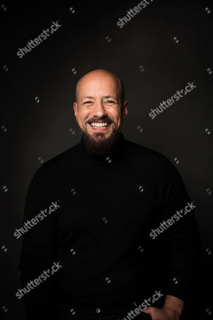"Director Tarik Saleh poses for a portrait to promote the film, ""The Nile Hilton Incident,"" at the Music Lodge during the Sundance Film Festival, in Park City, Utah"