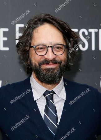 """Stock Picture of Writer and director Wallace Wolodarsky poses at the premiere of """"The Polka King"""" during the 2017 Sundance Film Festival, in Park City, Utah"""