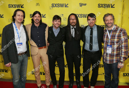 """Editorial image of 2017 SXSW - """"May It Last: A Portrait of the Avett Brothers"""", Austin, USA - 15 Mar 2017"""