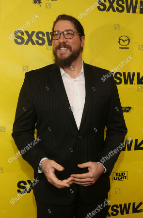 "Producer Tanner Beard arrives at the world premiere of ""Song to Song"" at the Paramount Theatre during the South by Southwest Film Festival, in Austin, Texas"