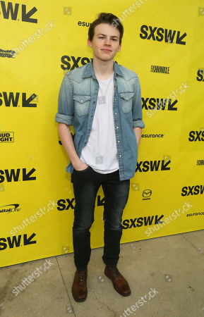 "Josh Wiggins arrives at a screening of ""Walking Out"" at the ZACH Theatre during the South by Southwest Film Festival, in Austin, Texas"