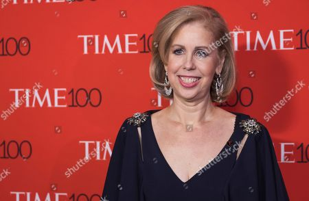 Stock Picture of Nancy Gibbs attends the TIME 100 Gala, celebrating the 100 most influential people in the world, at Frederick P. Rose Hall, Jazz at Lincoln Center, in New York