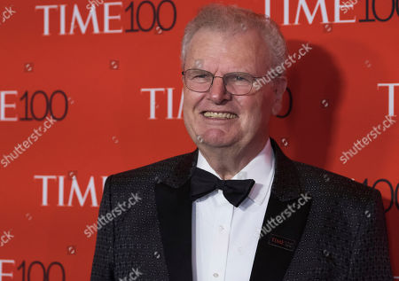 Howard Stringer attends the TIME 100 Gala, celebrating the 100 most influential people in the world, at Frederick P. Rose Hall, Jazz at Lincoln Center, in New York
