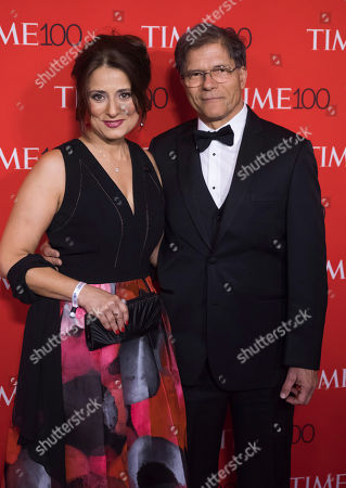 Natalie Batalha, left, attends the TIME 100 Gala, celebrating the 100 most influential people in the world, at Frederick P. Rose Hall, Jazz at Lincoln Center, in New York