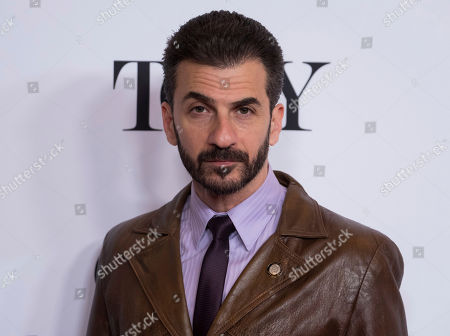Michael Aronov participates in the 2017 Tony Awards Meet the Nominees press day at the Sofitel New York hotel, in New York