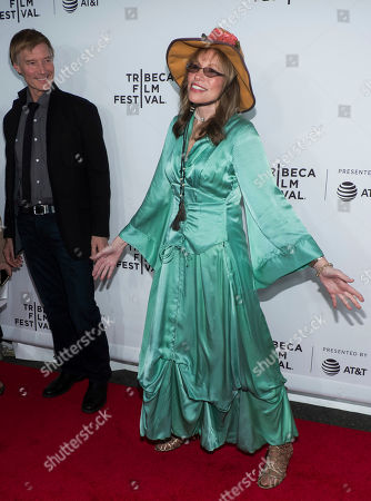 "Carly Simon attends the world premiere of ""Clive Davis: The Soundtrack of Our Lives"" at Radio City Music Hall, during the 2017 Tribeca Film Festival, in New York"