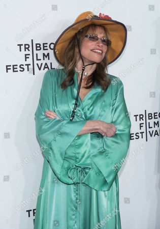 "Stock Photo of Carly Simon attends the world premiere of ""Clive Davis: The Soundtrack of Our Lives"" at Radio City Music Hall, during the 2017 Tribeca Film Festival, in New York"