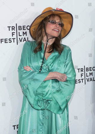 "Stock Picture of Carly Simon attends the world premiere of ""Clive Davis: The Soundtrack of Our Lives"" at Radio City Music Hall, during the 2017 Tribeca Film Festival, in New York"