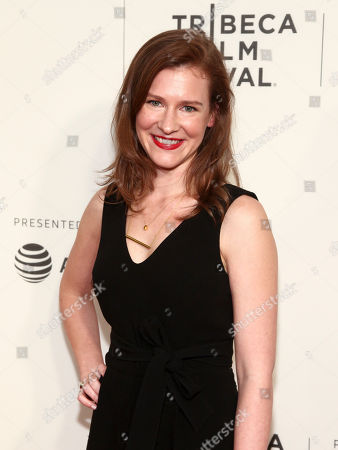 """Gwendolyn Ellis attends the screening of """"Genius"""", during the 2017 Tribeca Film Festival, at BMCC Tribeca Performing Arts Center, in New York"""