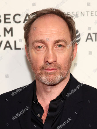 """Michael McElhatton attends the screening of """"Genius"""", during the 2017 Tribeca Film Festival, at BMCC Tribeca Performing Arts Center, in New York"""